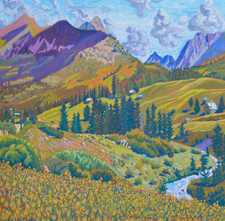 CRESTED BUTTE - MEANDERING