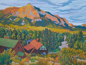 EVENING - CRESTED BUTTE