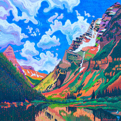 LAKE OF MAROON BELLS